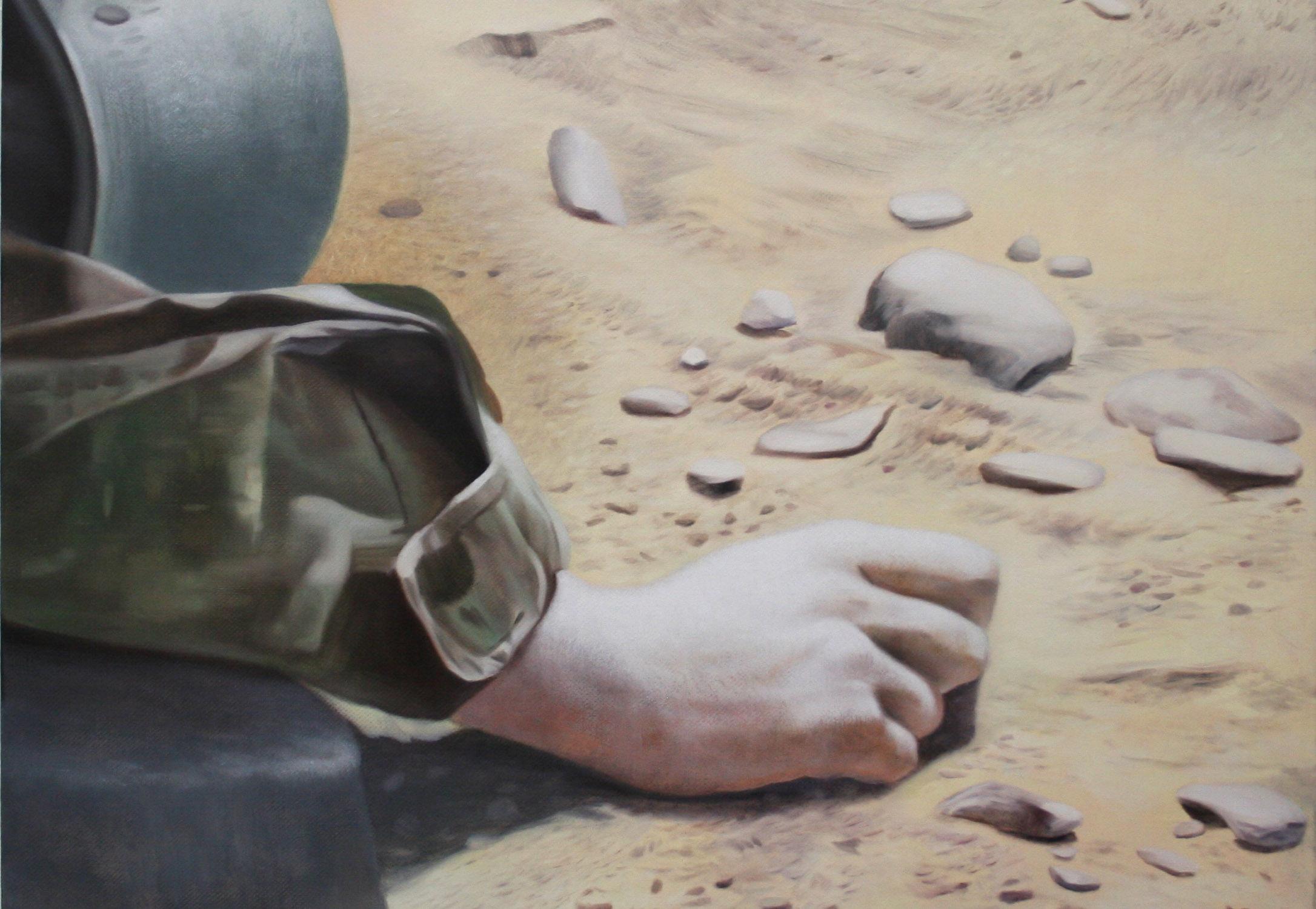 Afghan-Minesweeper-Viktor-Vitkowski-25-x-25-in-oil-on-linen-2018-2