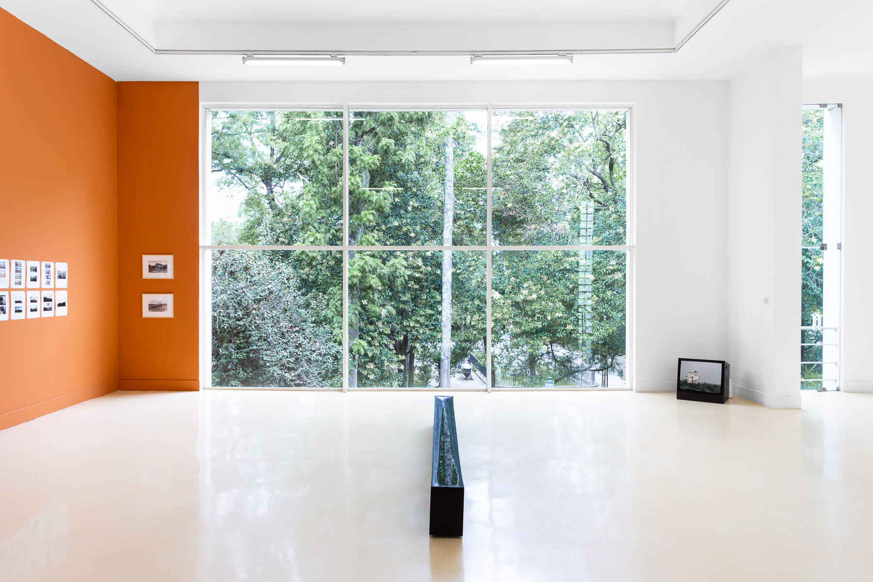 Installation view, On the edge of the landscape comes the world, Pavilhão Branco, 2021