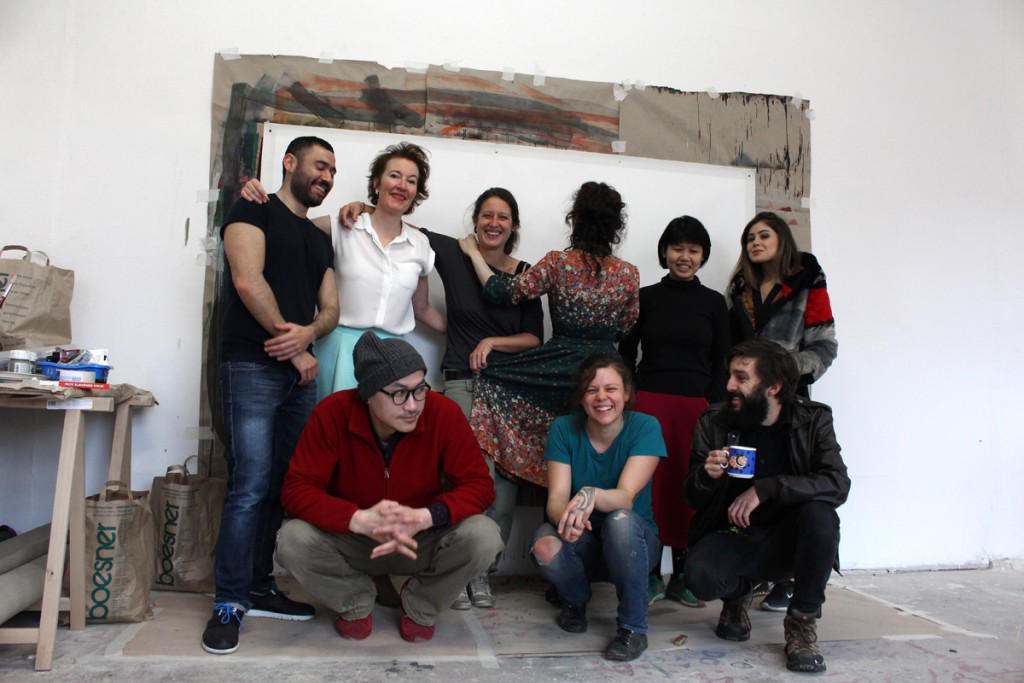 Back, from right to left: Mazen Khaddaj, Doris Hansen, Tanja Laeri, Cleo Sanchez, Magdalen Chua, Nazli Ceren Ozerdem; Front, from right to left: Dongkwang Jo, Katherine Wildman, Henry Kunkel; Not on the picture: Patrick Segura, Jenny Lewis.
